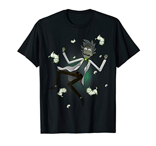 Rick and Morty Shirt a Rickle in Time T-Shirt T-Shirt