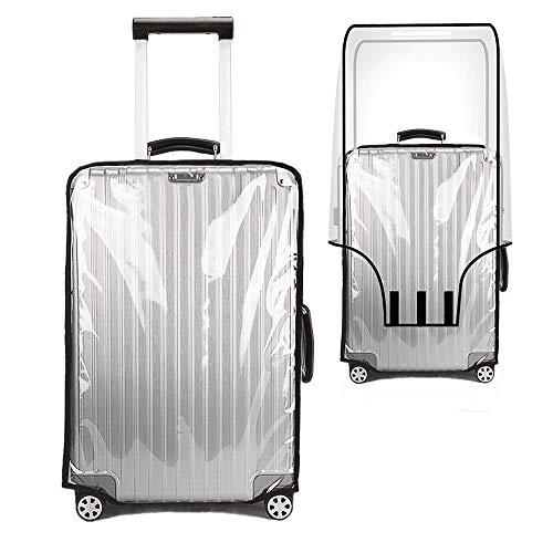 Kofferabdeckung Gepäckschutz von YCBest Transparente wasserdichte staubdichte Faltbare waschbare Temperaturbeständigkeit PVC Tasche (24