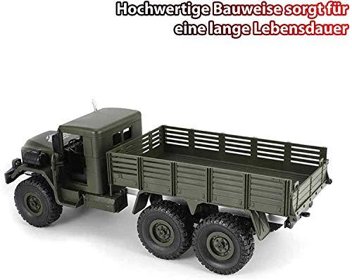 RC Crawler kaufen Crawler Bild 1: HSP Himoto 2.4GHz RC Ferngesteuerter 6WD Off-Road Militär Army Truck Crawler Fahrzeug Transporter, Komplett-Set RTF*