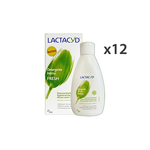 Set 12 Lactacyd zeep Intimo Fresh 200 ml. Zeep en cosmetica.
