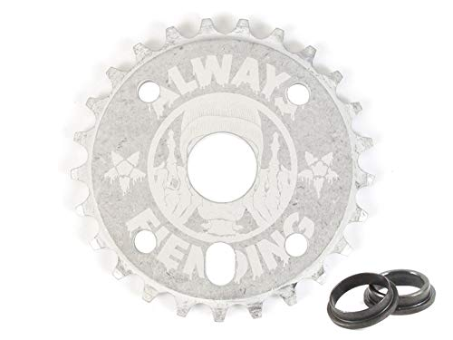 Fiend BMX Reynolds - Plato para bicicleta (25 dientes, 22 mm)