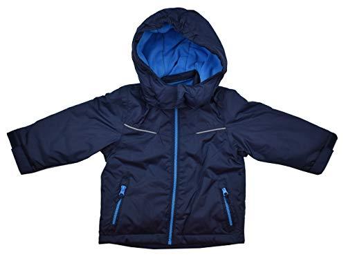 Pocopiano Schneejacke Winterjacke Jungen Blau Marine 74/80 86/92 98/104 110/116 (86/92)