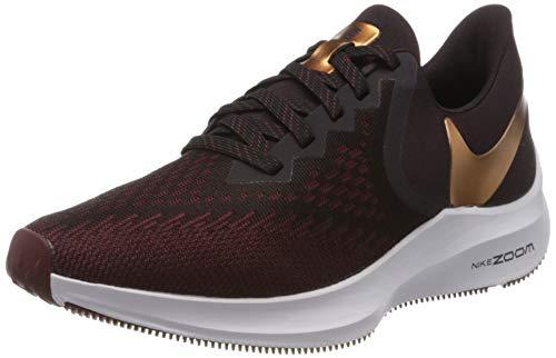 Nike Women's Running Shoes, Red Burgundy Ash MTLC Copper Team Red 601, Women 2