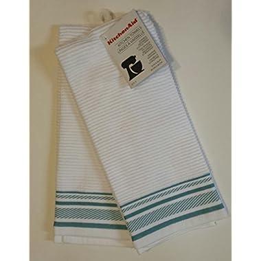 KitchenAid 2 Aqua Sky Margin Towels