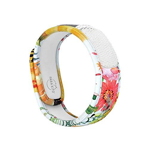 Para'Kito Essential oil diffusion Mosquito wristband bracelet (Flowery)