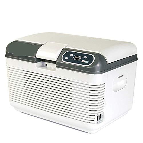 SXXYTCWL Refrigerador de Coches, 7,5 litros, automóviles y Mini refrigeración Portátil Mini Universal Mini Nevera Mini Dorm Pequeño Frigorífico Congelador-Azul jianyou (Color : White)