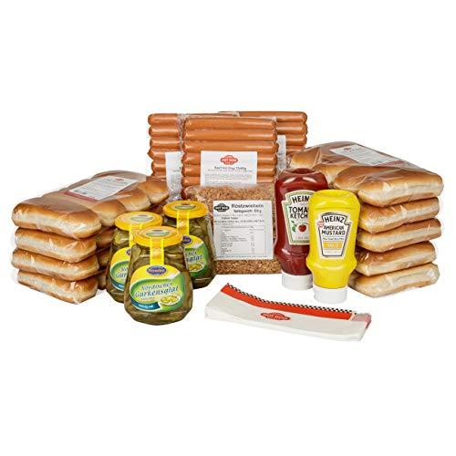 """HOT DOG WORLD - Hot Dog Paket """"dänische Art"""" (36 Stück BEEF)"""