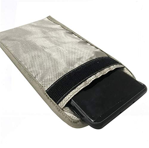 Security Pouch Faraday Bag Anti-Radiation Cell Phone Sleeve Signal...