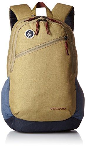 Volcom Substrate - Mochila para Hombre Beige Caqui Oscuro Talla:47 x 32 x 18 cm, 26 Liter