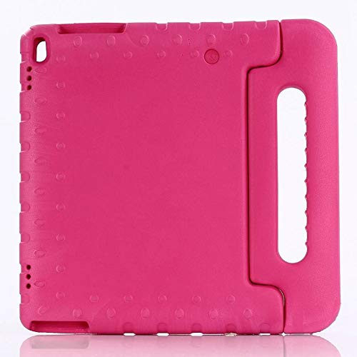RZL PAD & TAB cases For Lenovo Tab4 10 TB-X304F, Kids Shockproof Full Body Handle Cover For Lenovo Tab 4 10 PLUS TB-X704F X704N 10.1' (Color : Rose Red)