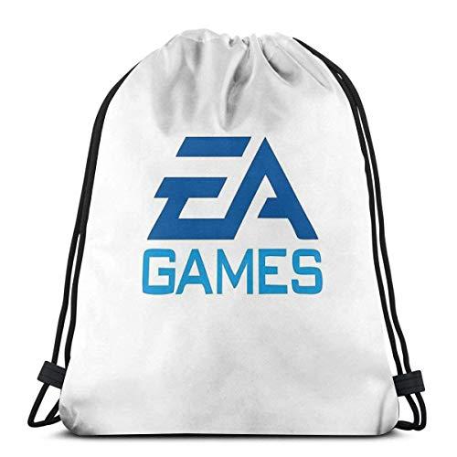AOOEDM Best Seller Ea Games Merchandise1 Sport Sackpack Mochila con cordón Bolsa de gimnasio Saco