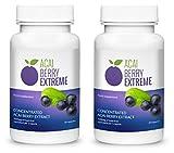 ✅ACAI BERRY EXTREME Premium (2x) pierde hasta 15 kilos en un mes, quema grasa eficaz, con valiosas vitaminas y antioxidantes, ¡eficaz contra la obesidad!
