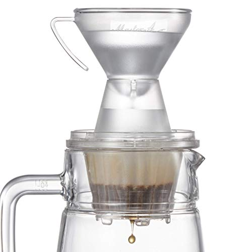 Pour Over Coffee Dripper: The Gabi Master A – Hands-free Manual Brewing, Easy Hand Drip for Precise & Consistent Brewing Profiles, Single Serve Coffee Maker 1-2 Cup, Slow Brewing Accessory for Home, Office, Café, Restaurants – A Perfect Gift: Barista Champion's Choice for Coffee Lovers from Brewing Newcomers to Professional Baristas
