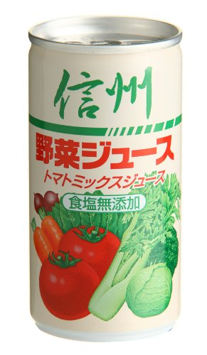 長野興農 信州野菜ジュース 食塩無添加 190g×30本