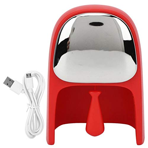 Reloj despertador digital fácil de llevar para niños(red)