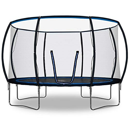 Rebo Jump Zone II Trampoline with Halo Safety Enclosure 2020 Model - 12FT