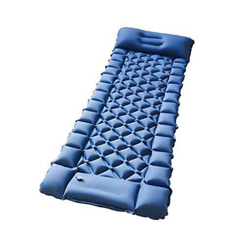 Diaod 6cm Espesa colchón de Cama de Alambre de Aire para Acampar Ultraligero al Aire Libre colchón Inflable para la Tienda de la Tienda a Prueba de Humedad