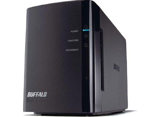 Buffalo LinkStation Duo 2-Bay 6 TB (2 x 3 TB) RAID Network Attached Storage (NAS) - LS-WX6.0TL/R1