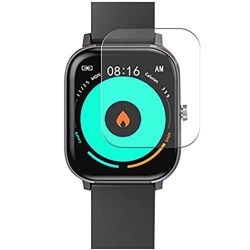 Vaxson 3-Pack TPU Pellicola Protettiva, compatibile con Voigoo DT35 1.54' Smartwatch Smart Watch, Screen Protector Film [ Non Vetro Temperato ]