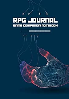 RPG Journal Mixed Paper: Ruled, Graph, Hexagon and Dot Grid   Game Companion Notebook Android Hand (Sci Fi RPG Game Series)
