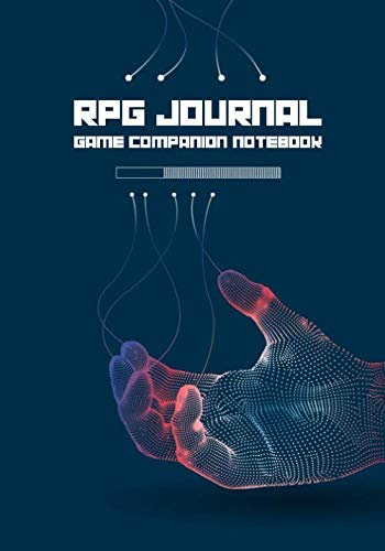 RPG Journal Mixed Paper: Ruled, Graph, Hexagon and Dot Grid | Game Companion Notebook Android Hand