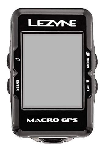 Lezyne Macro GPS Ordenador, 0.074 kilograms, Color Negro, Sin Dispositivos adicionales