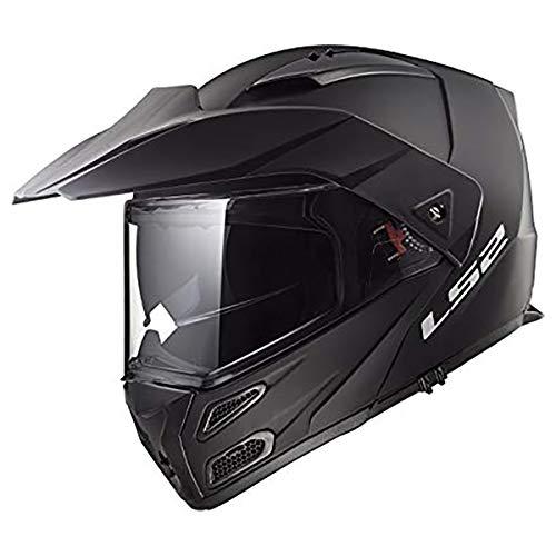 LS2 Helmets Modular Metro V3 Helmet (Matte Black - X-Large)