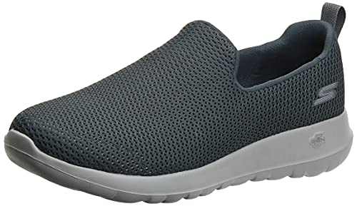 Skechers Men's Go Walk Max-Athletic Air Mesh Slip on Walkking Shoe Sneaker,Charcoal,9 X-Wide US
