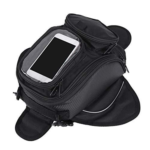 Bolsa de tanque de motocicleta, resistente al desgaste, tamaño universal, bolsa de tanque de motocicleta, para motociclista, para la mayoría de motocicletas y accesorios de motocicleta