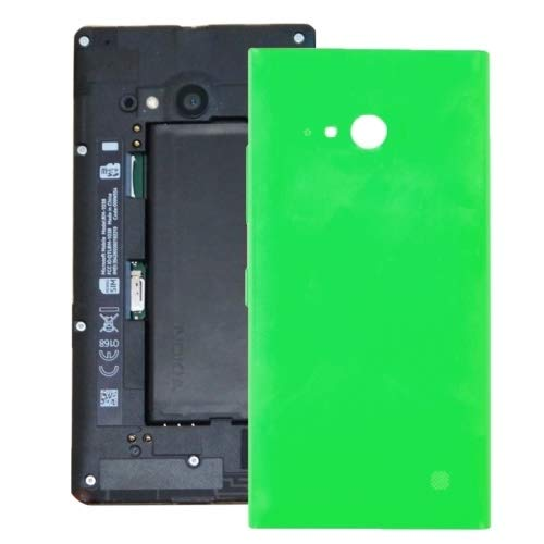 GMO AYSMG Batteria Cover Posteriore for Nokia Lumia 735 (Nero) (Color : Green)