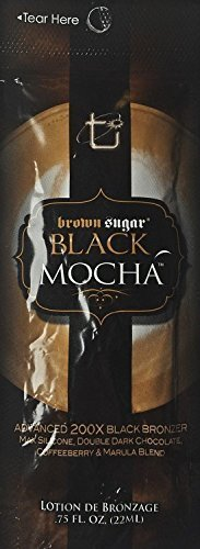 Lot of 5 Brown Sugar Black Mocha Tanning Lotion Packets by Tan Incorporated