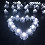 LED Palloncini Luci, Colorate Lanterne di Carta Lampeggianti Luci, 100...
