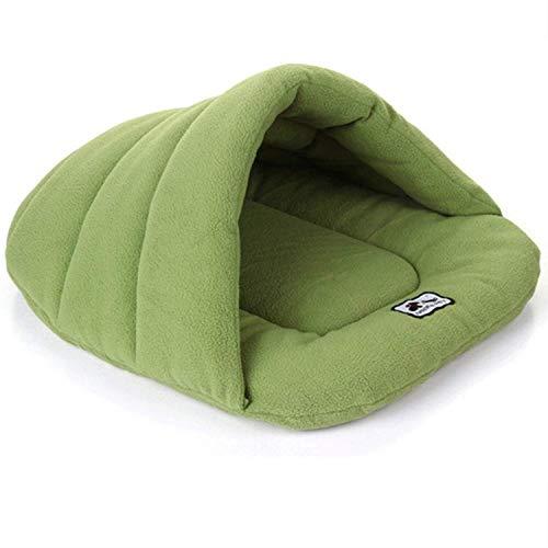 DGHJK Pet Nest Bett Fleece Warme Zwinger Matte Katzenzelt Four Seasons Universal Pet Schlafsack Nest Fleece