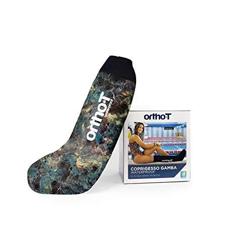 Ortho-T - Funda impermeable de neopreno para tiza media pierna, color camuflaje y negro XS Camuflaje