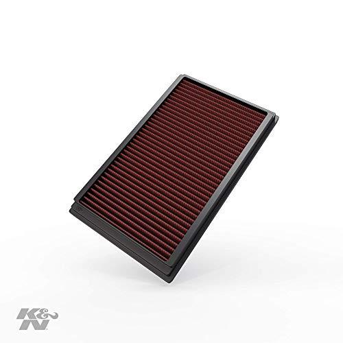 K&N 33-2270 Filtri Aria Sostitutivi Auto, Lavabile e Riutilizzabile