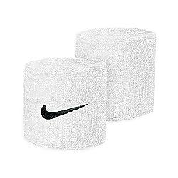 Nike Swoosh Wristbands white