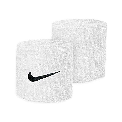 Nike Swoosh Wristbands - Muñequera, color blanco