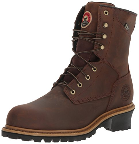 Irish Setter Work Men's Mesabi Steel Toe 83834 Boot, Brown, 11.5 D US
