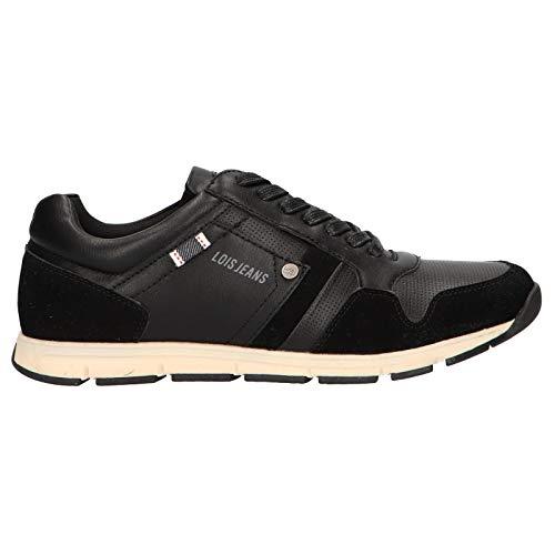 Zapatillas Deporte de Hombre LOIS JEANS 84870 26 Negro Talla 44