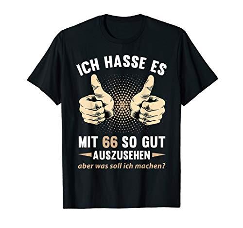 66. Geburtstag Damen Herren 66 Jahre Mann Frau 1954 Geschenk T-Shirt
