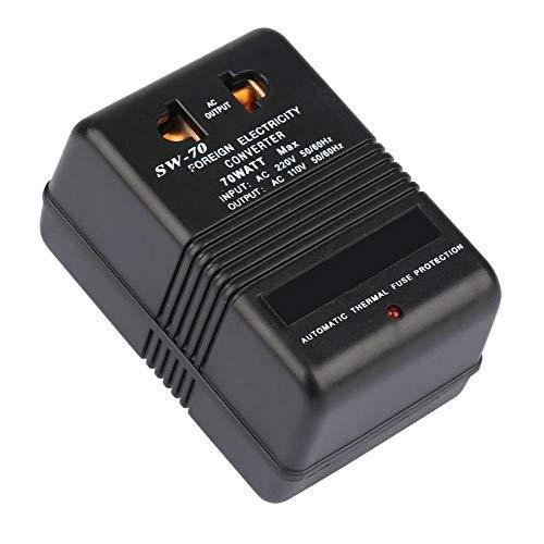 Convertitore buck, trasformatore di tensione da 220V a 110V, trasformatore da 70W, spinotto CN