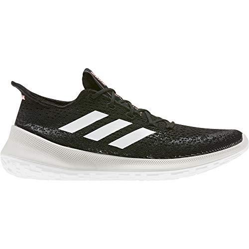 adidas SENSEBOUNCE + S.RDY W, Zapatillas de Running Mujer, Core Black/FTWR White/Light Flash Red, 37 1/3 EU