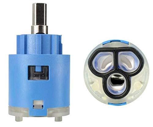 Blanco 119795 - Cartucho para grifo de alta presión AJARIS, VONDA Control y VONDA (25 mm de diámetro), color azul