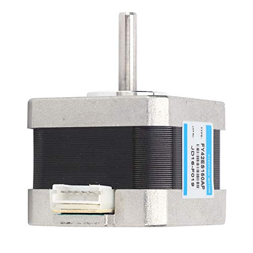 Motor eléctrico Motor paso a paso de alta torsión Bifásico Resistente a la corrosión 1,8 ° 0,28 Nm para manualidades para máquinas expendedoras para coches de juguete para control de