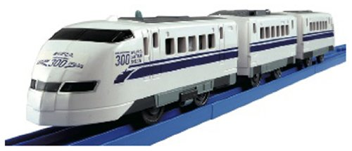 Loves Fun Train Series Good-bye Series 300 Shinkansen Bullet Train (Tomica PlaRail Model Train) (japan import)
