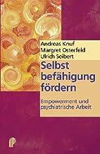 Cover »Selbstbefähigung fördern«