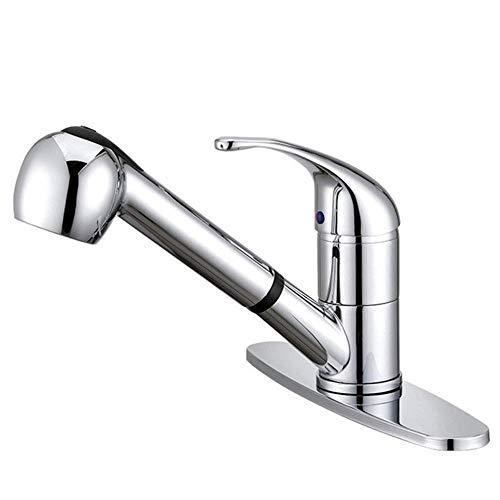Eengreeps keukenkraan hedendaags chroom goedkoop loodvrij messing eengreeps keukenkraan koud heet water kraan
