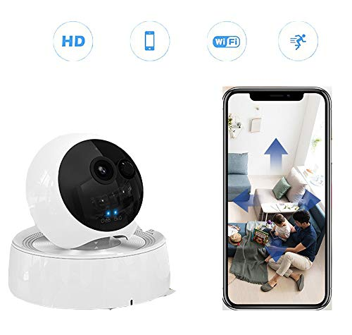 1080P Home Security Camera Babyfoon Camera IP Camera 1080P HD WiFi Security Camera Bewegingsdetectie met nachtzicht Tweeweg Audio Cloud Service - Baby/oudere/huisdiermonitor