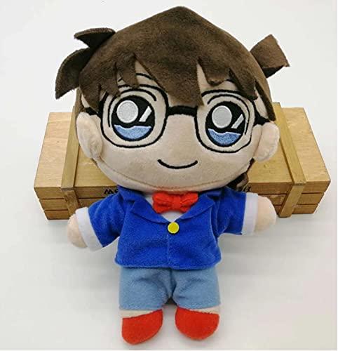 WPQL Juguetes de Peluche de la Serie Anime Detective Conan, muñeca de colección de Juguetes Edogawa Konan, Regalo de cumpleaños de Navidad para niños, 22 cm