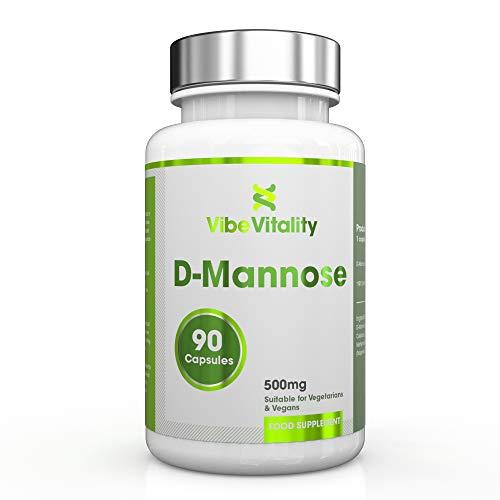 Vibe Vitality D-Mannose - 500 mg, 90 Kapseln